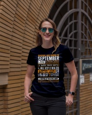 Queens Are Born In September  Ladies T-Shirt lifestyle-women-crewneck-front-2