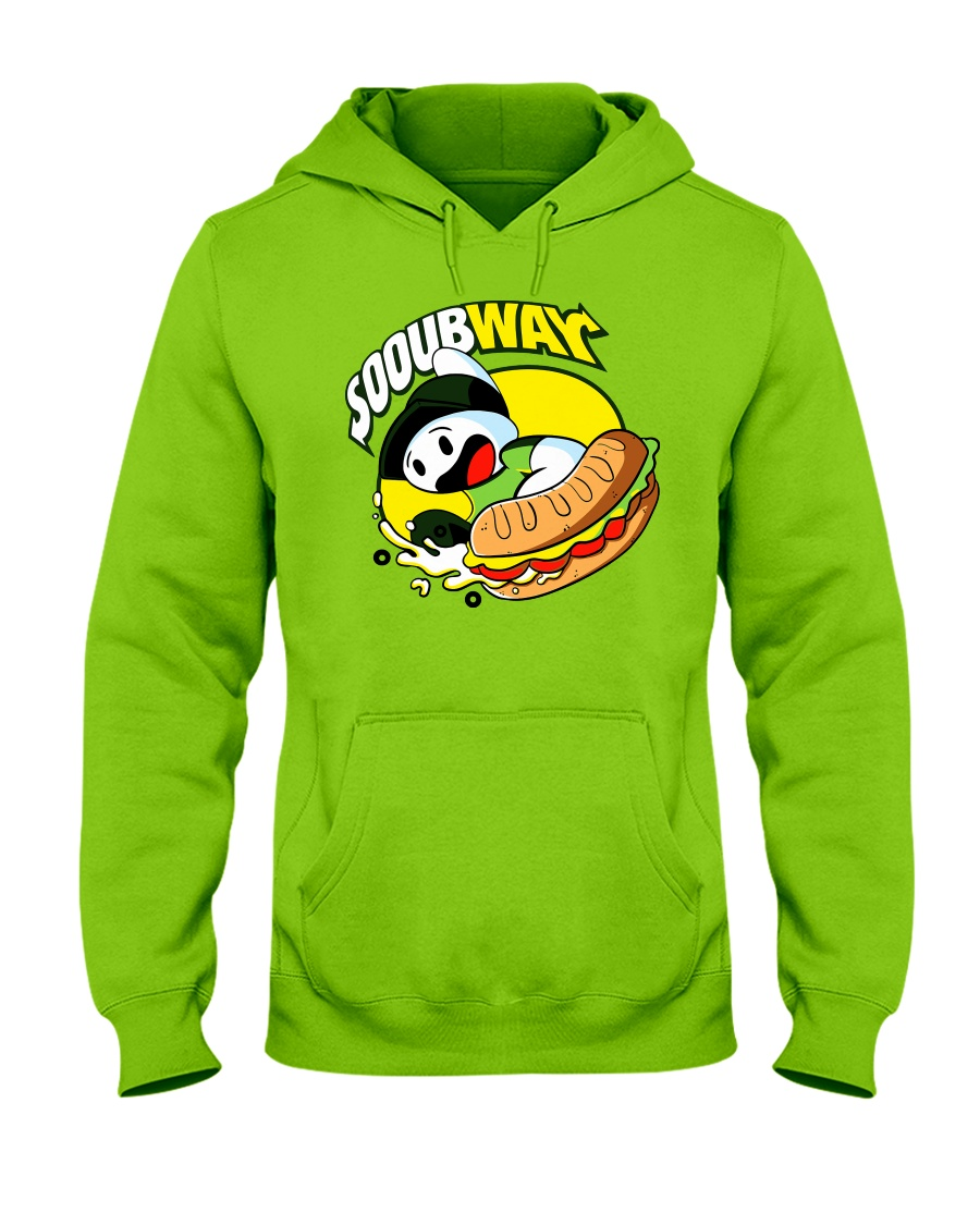 Theodd1sout Merch Sooubway T- Shirt Hooded Sweatshirt