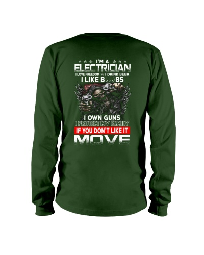 Electrician I Love Freedom
