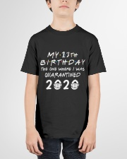 my 13th birthday the one where I was quarantined Youth T-Shirt garment-youth-tshirt-front-01