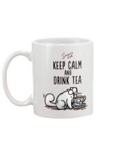 Keep Carm And Drink Tea Mug back