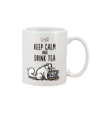 Keep Carm And Drink Tea Mug front
