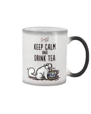 Keep Carm And Drink Tea Color Changing Mug thumbnail