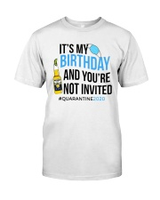 Birthday Time Classic T-Shirt front