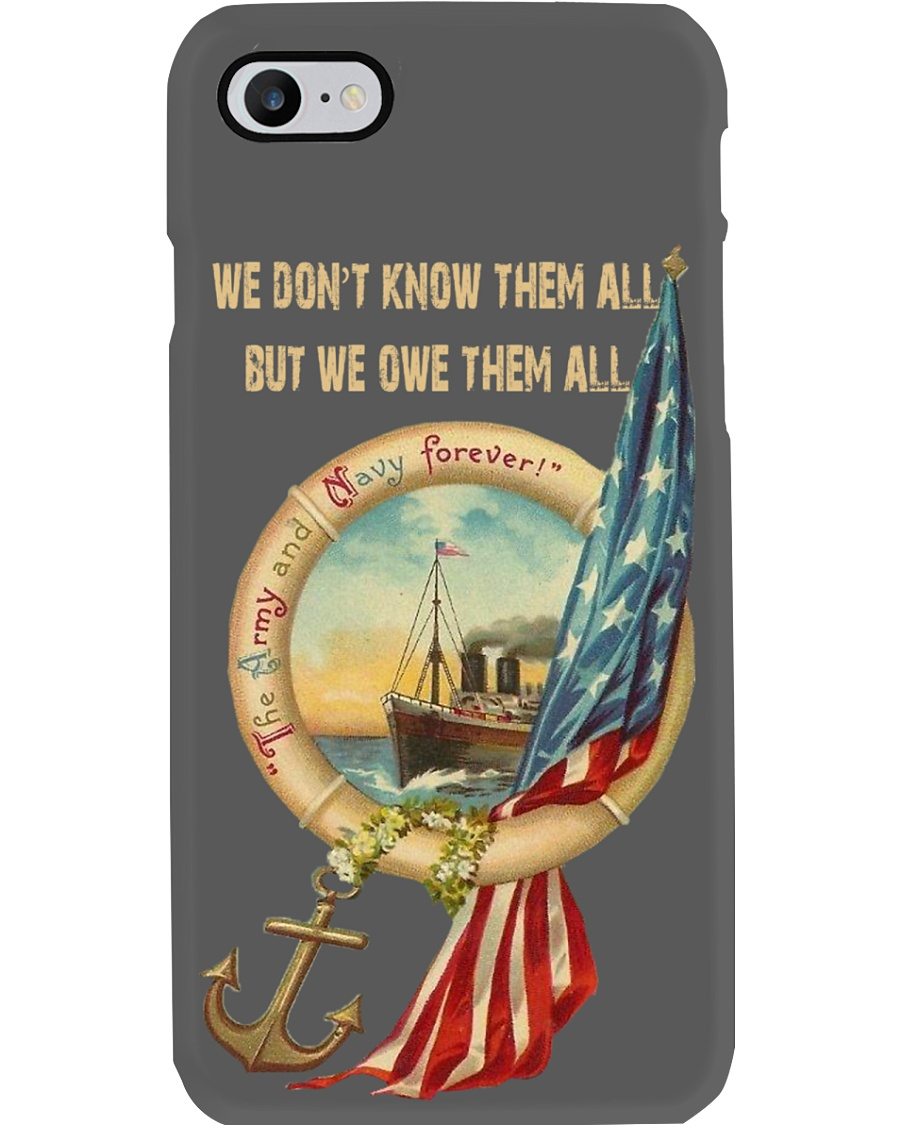 The Army and Navy Forever Phone Case