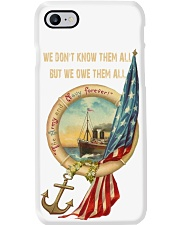 The Army and Navy Forever Phone Case thumbnail