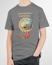 The Army and Navy Forever Youth T-Shirt garment-youth-tshirt-front-lifestyle-01