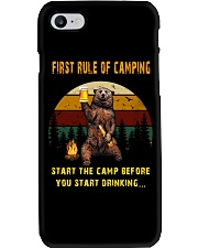First Rule Of Camping Phone Case thumbnail