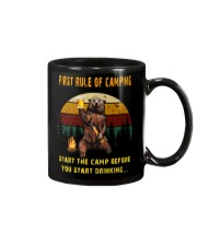 First Rule Of Camping Mug front