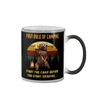 First Rule Of Camping Color Changing Mug thumbnail