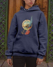 the army and navy forever Hooded Sweatshirt apparel-hooded-sweatshirt-lifestyle-front-03