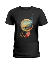 the army and navy forever Ladies T-Shirt thumbnail