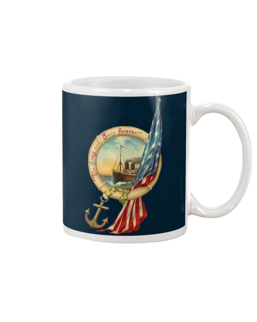 the army and navy forever Mug