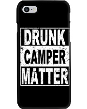 Drunk Camper Matter Phone Case thumbnail
