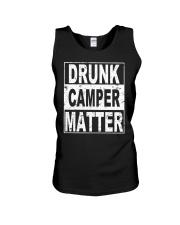 Drunk Camper Matter Unisex Tank thumbnail