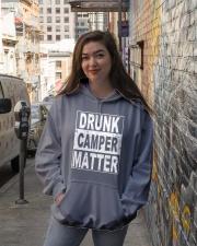 Drunk Camper Matter Hooded Sweatshirt lifestyle-unisex-hoodie-front-1