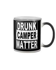 Drunk Camper Matter Color Changing Mug thumbnail