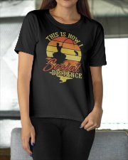 Hunting and Fishing Social Distance Ladies T-Shirt apparel-ladies-t-shirt-lifestyle-front-11