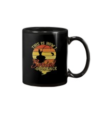 Hunting and Fishing Social Distance Mug thumbnail