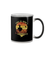 Hunting and Fishing Social Distance Color Changing Mug thumbnail