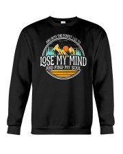 Into The Forest I Lose My Mind and Find My Soul Crewneck Sweatshirt thumbnail