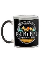 Into The Forest I Lose My Mind and Find My Soul Color Changing Mug color-changing-left