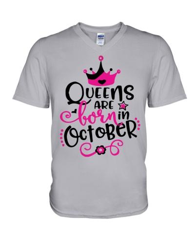 Queens Are Born In October Cute