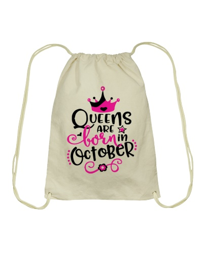 Queens Are Born In October Cute