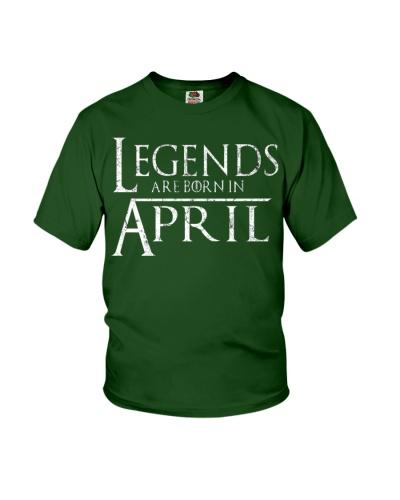 Legends Are Born In April GOT
