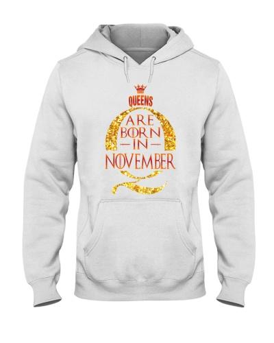 GOT Queens are born in November