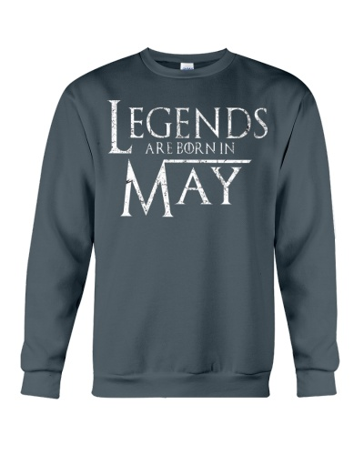 Legends Are Born In May GOT