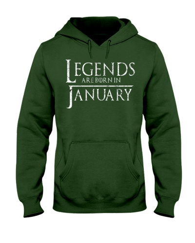 Legends Are Born In January GOT