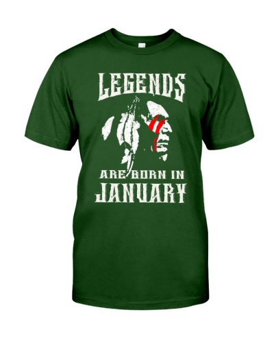 Native Legends Are Born in January