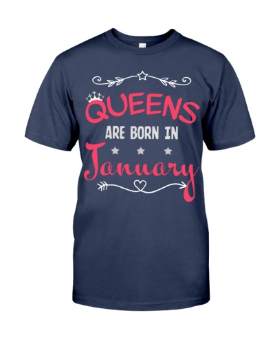 January Queens Vintage