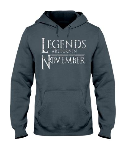 Legends Are Born In November GOT