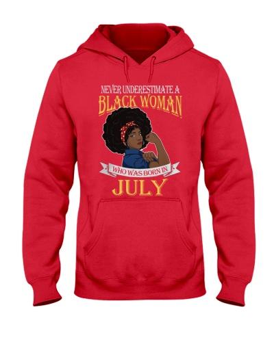 Black Woman Born in July