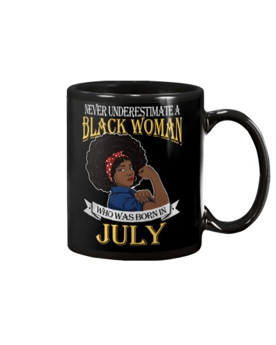 Black Woman Born in July