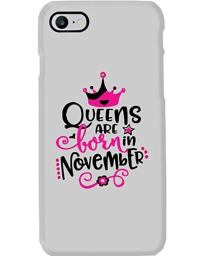 Queens Are Born In November Cute