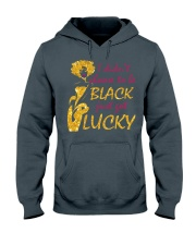 Proud To be Black Hooded Sweatshirt front