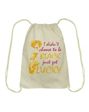Proud To be Black Drawstring Bag thumbnail