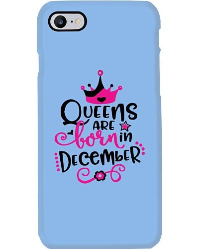 Queens Are Born In December Cute