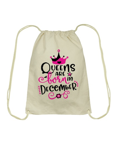 Queens Are Born In December Cute