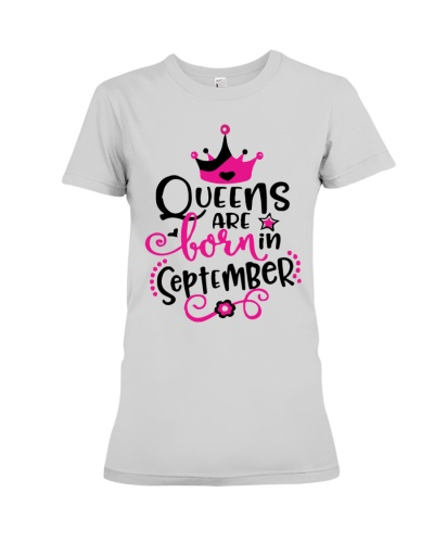 Queens Are Born In September Cute