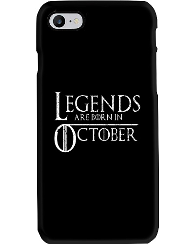Legends Are Born In October GOT