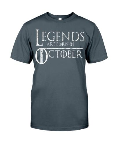 Legends Are Born In October GOT