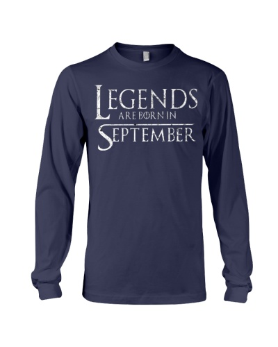 Legends Are Born In September GOT
