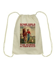 THE HORSE IN THEIR SOULS Drawstring Bag thumbnail