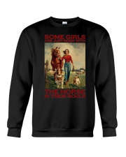 THE HORSE IN THEIR SOULS Crewneck Sweatshirt thumbnail