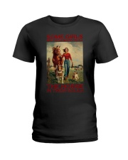 THE HORSE IN THEIR SOULS Ladies T-Shirt thumbnail