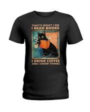 That's What I Do I Read Books Ladies T-Shirt thumbnail